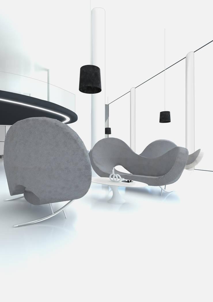 RELAX AREA: Hotel in stile  di FRANCESCO GENNARO Interior Design, Minimalista