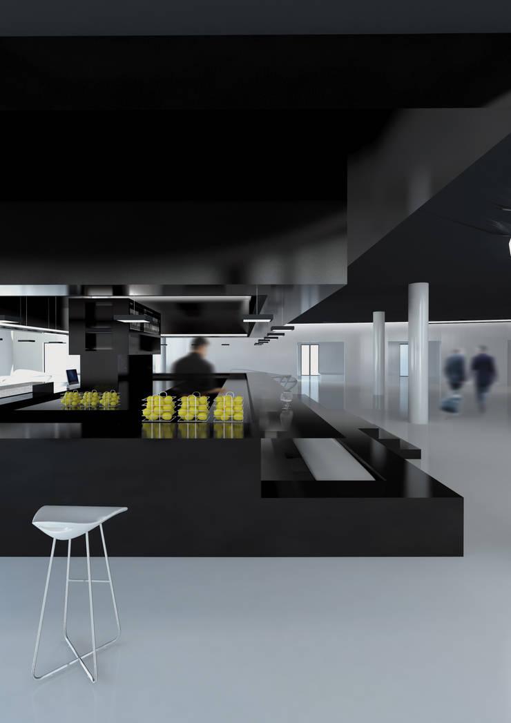 LOUNGE BAR : Hotel in stile  di FRANCESCO GENNARO Interior Design, Minimalista