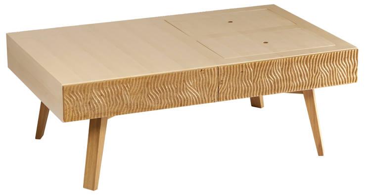Table basse <q>Maria</q>: Salon de style  par Magali Senaux