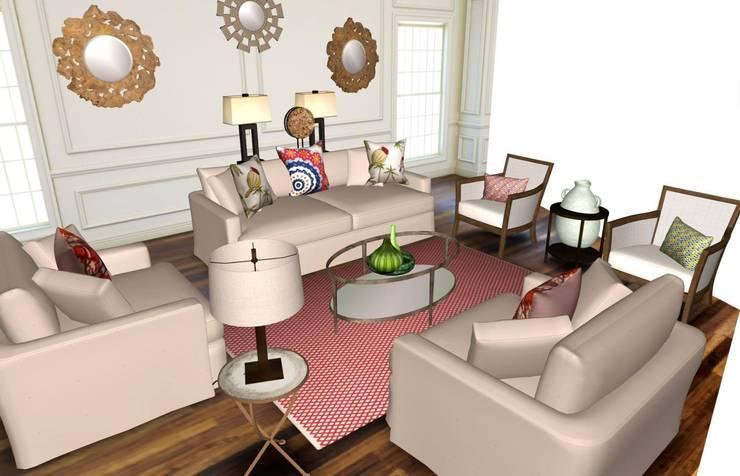 Contemporary :   by Studio D. Interiors