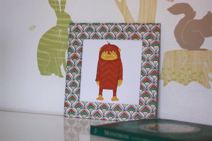 Otesanek: Habitaciones infantiles de estilo  de Baalbek studio