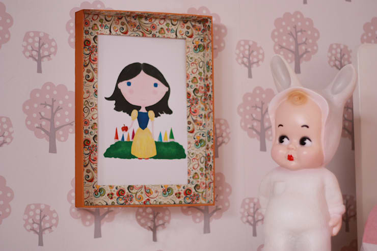 Olipa Kerran: Habitaciones infantiles de estilo  de Baalbek studio