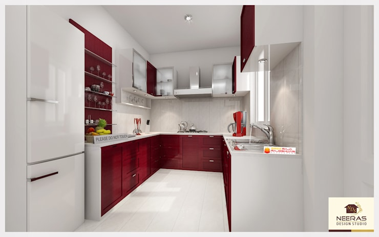 Neeras Kitchen :  Kitchen by Neeras Design Studio