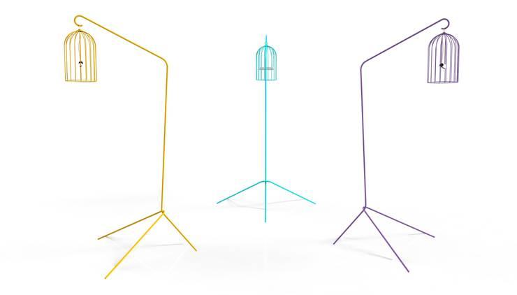 Lampe TITI: Jardin de style  par THINK THINK DESIGN