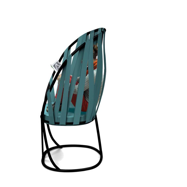 Slack Chair: Salon de style  par Victoria Paulus