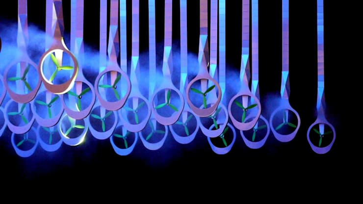 FLYING STICKS 2012 I Valeo I Paris:  de style  par Atelier GH