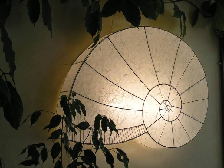 Schnecke geschlossen weiß:  Wohnzimmer von espo-leuchten