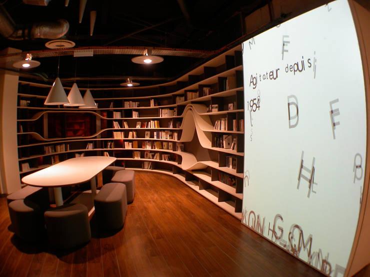 Bibliothèque André Essel, Fnac Paris 2008:  de style  par Atelier GH