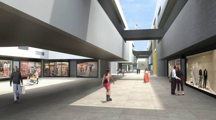 Galeria Comercial em Embu das Artes:   por AUÁ arquitetos