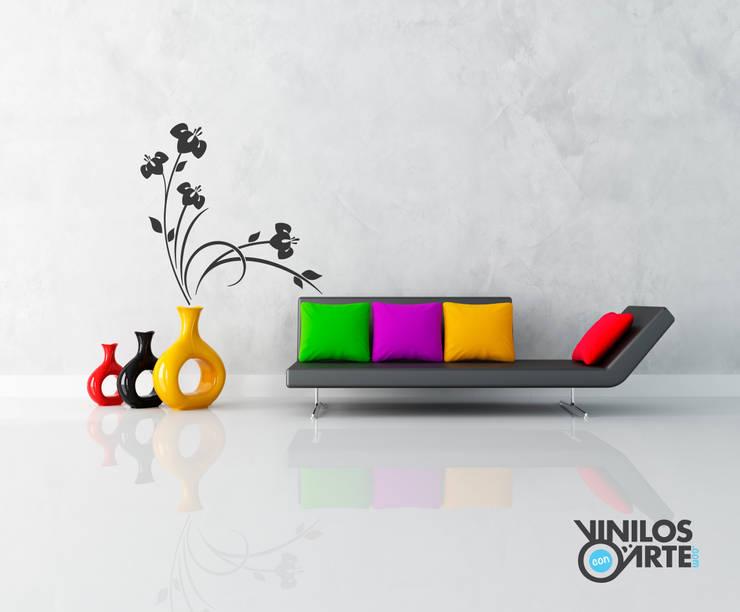 Vinilos con Arte:  tarz Oturma Odası