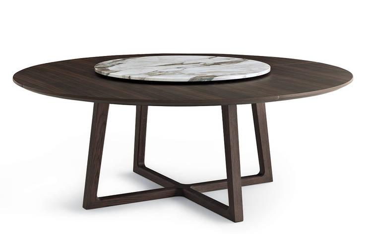 Collection table Concorde pour Poliform: Salle à manger de style  par agence Emmanuel Gallina