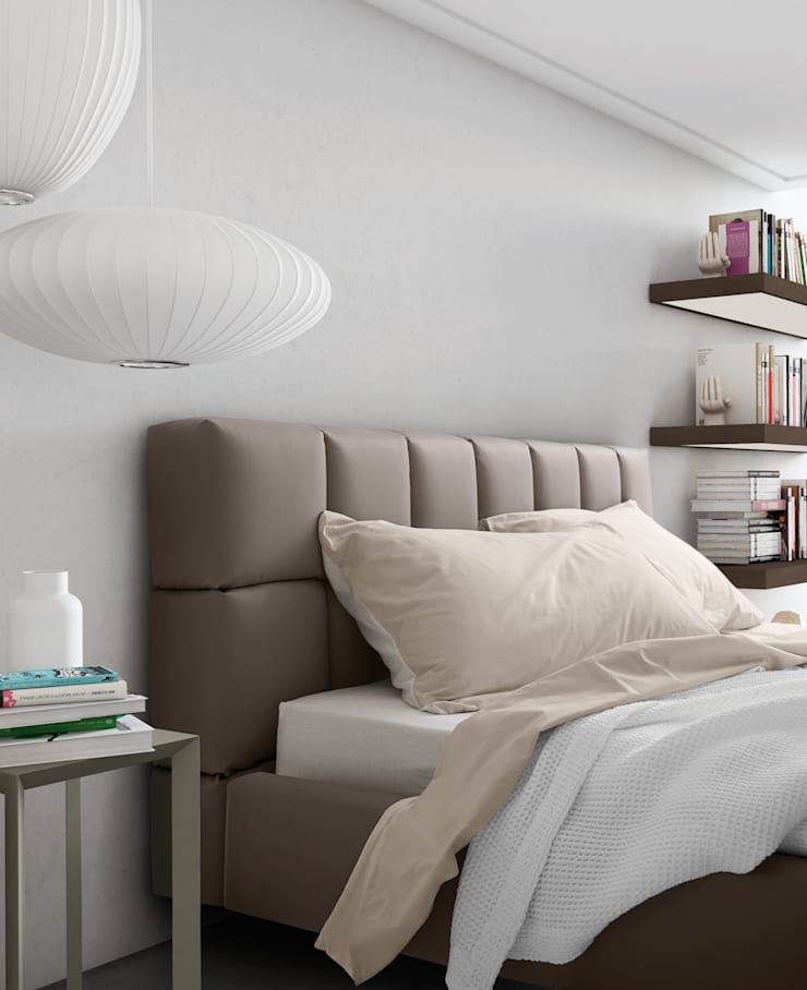 Cubic: Camera da letto in stile  di PIANCA