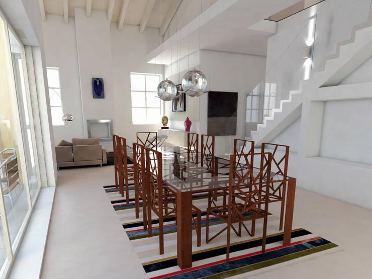 moderne Wohnzimmer von Design art