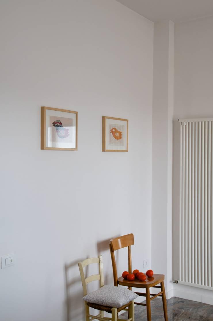 Casa CL.PC: Case in stile  di Angeli - Brucoli Architetti