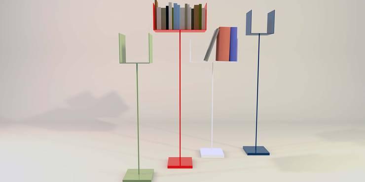 Mini lireria:  in stile  di Design art, Minimalista