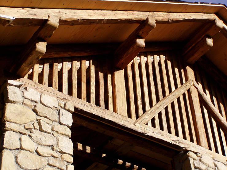Casas de estilo rústico de zanella architettura