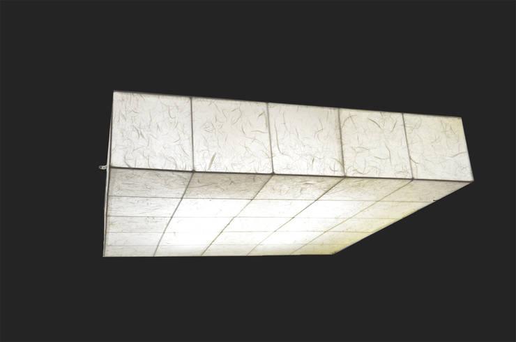 Malak Quadrat: modern  von espo-leuchten,Modern Papier