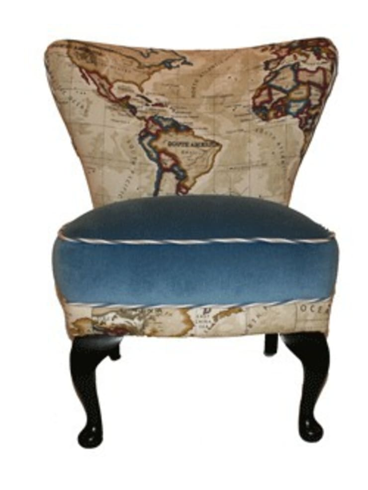Around The World in 80 Days :  Living room by Just The Chair