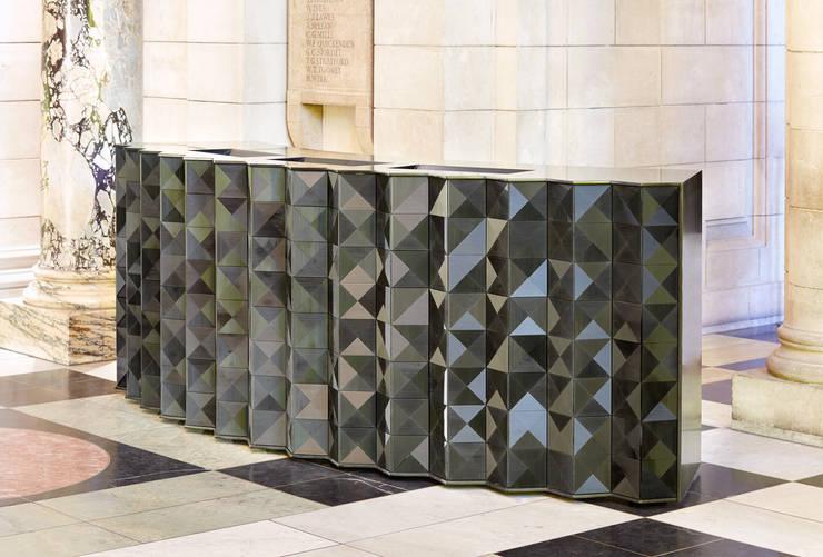 Victoria & Albert Museum:  Walls & flooring by Giles Miller Studio