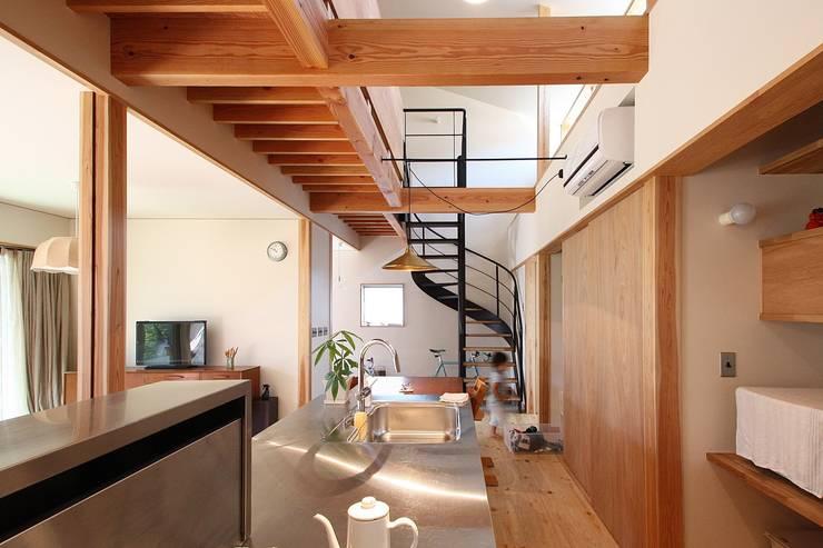 Kitchen by 伊藤瑞貴建築設計事務所, Scandinavian