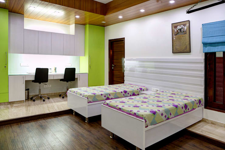 Kid's Bedroom: modern Houses by Studio An-V-Thot Architects Pvt. Ltd.