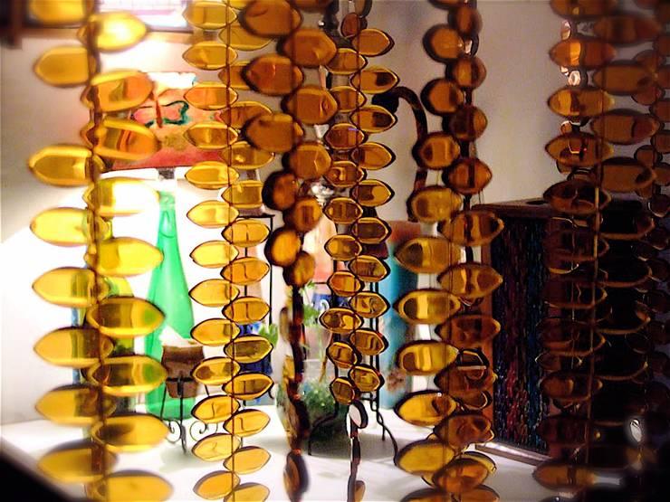 Arte de estilo  por Memories of a Butterfly: bead curtains/screens/installations/Hanging Sculptures