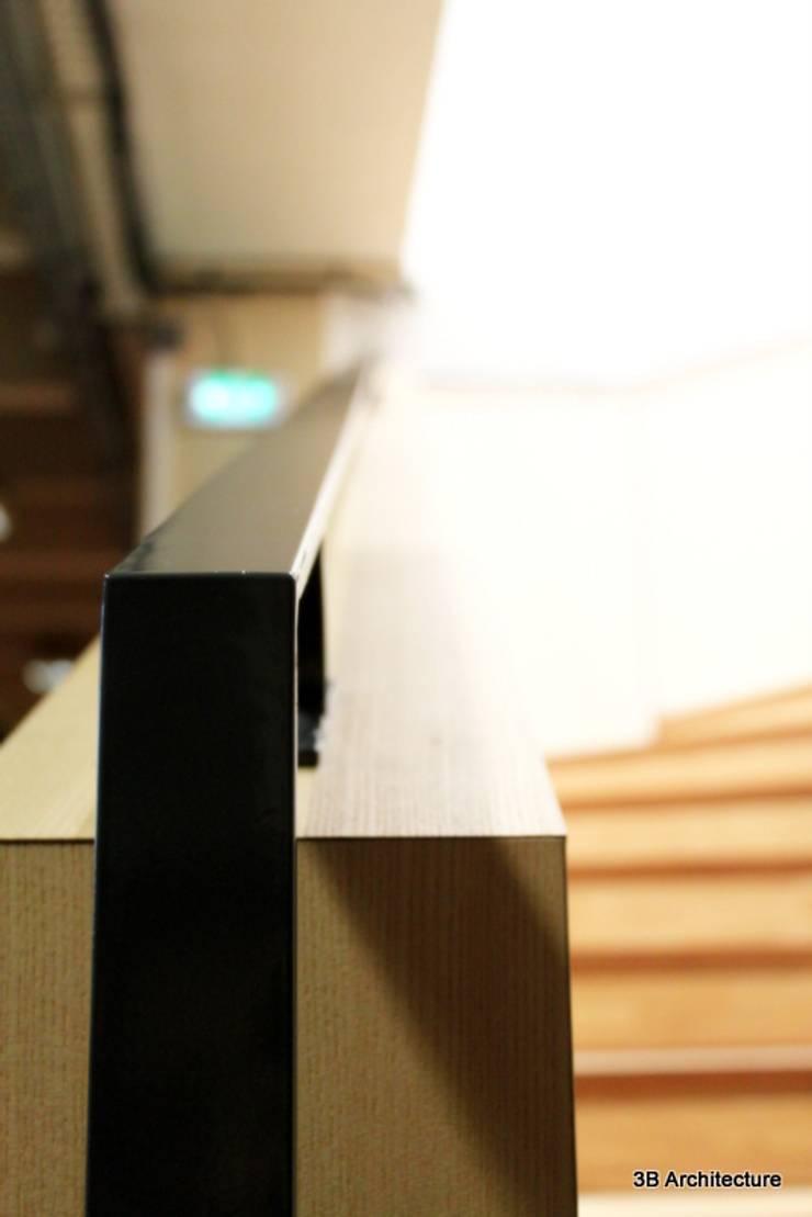Détail: Stades de style  par 3B Architecture