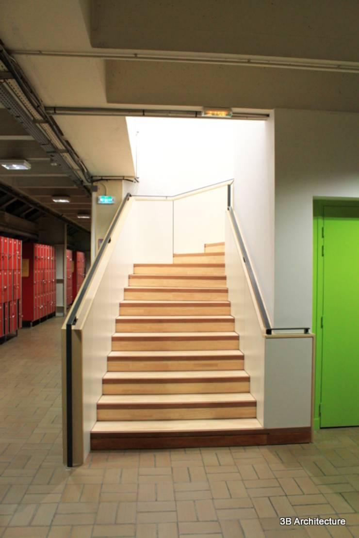 Escalier: Stades de style  par 3B Architecture