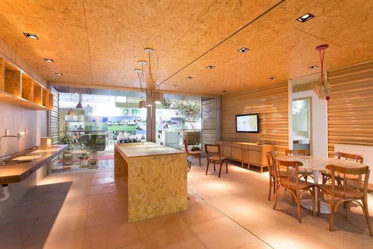 Casas de estilo  por Haruf Arquitetura + Design