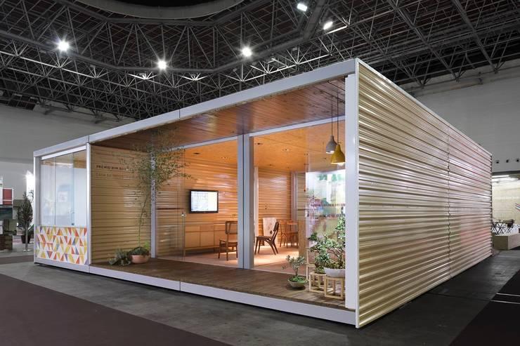 Fachada: Casas  por Haruf Arquitetura + Design,