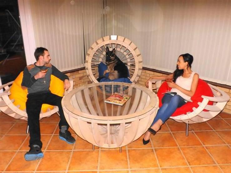 conservatory furniture:  Living room by srb enginering 2000 ltd
