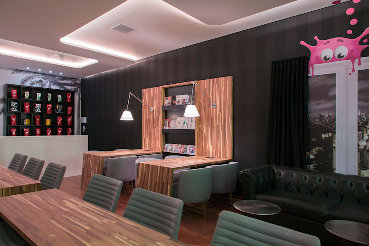 Bars & clubs by Orlane Santos Arquitetura,
