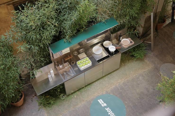 Outdoorküche Garten Edelstahl Xxl : Outdoor küche: kochen unter freiem himmel