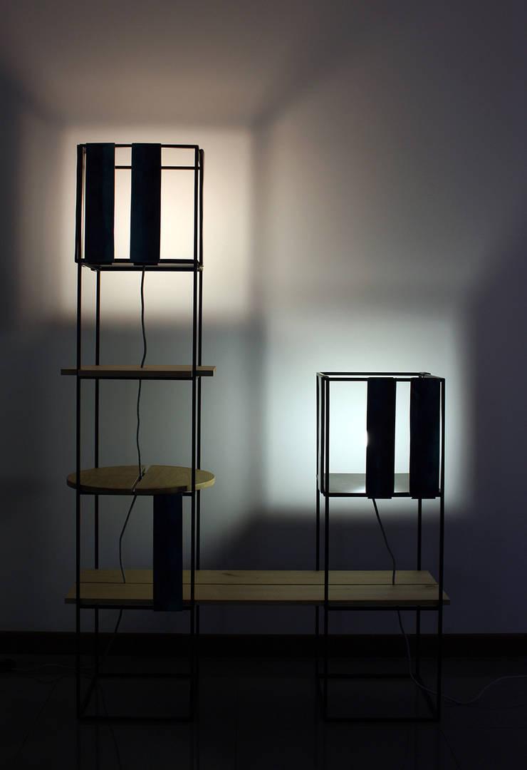 BonJour: Soggiorno in stile  di Fabrizio Demma Atelier,