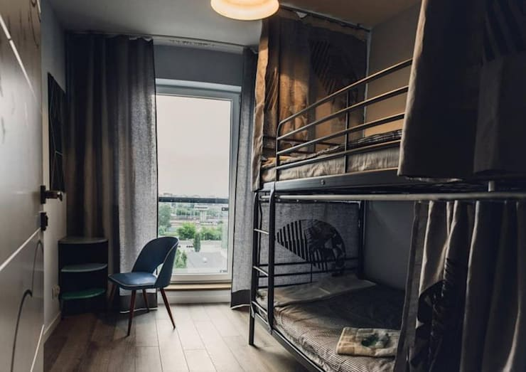 89m,Kamionek, Wwa: styl , w kategorii Pokój dziecięcy zaprojektowany przez dziurdziaprojekt