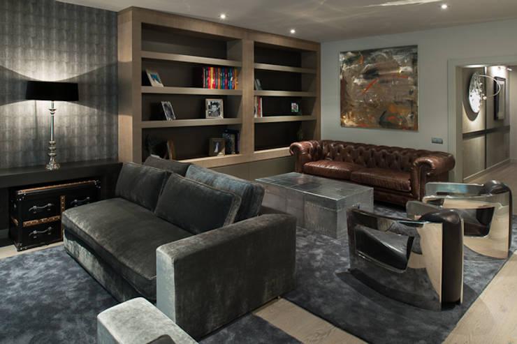 Interiorismo piso Barcelona: Salones de estilo  de Isa de Luca
