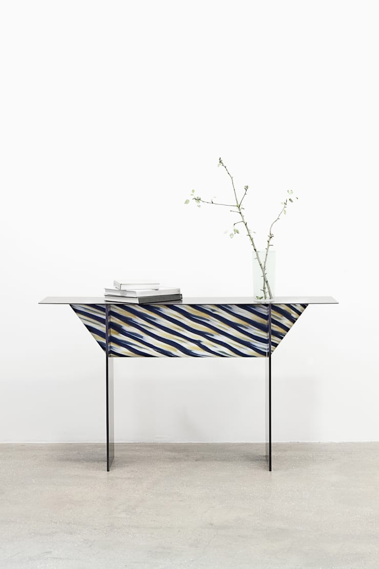 """""""Totem"""" console et  la table """"Stromboli""""  :  de style  par Studio Fastrez"""