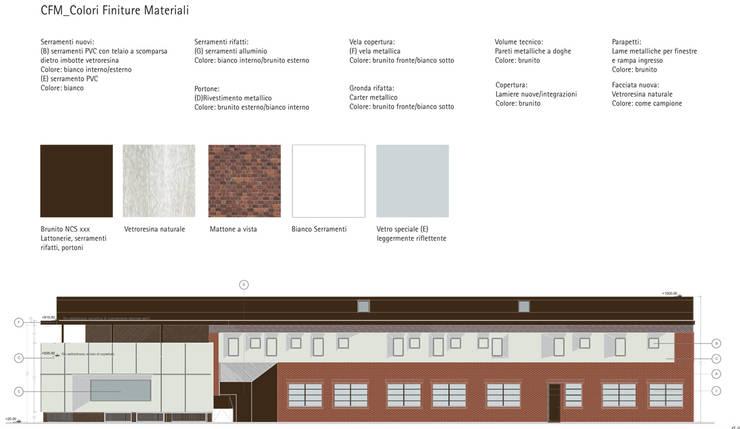 BLS: Complessi per uffici in stile  di Studio BASE