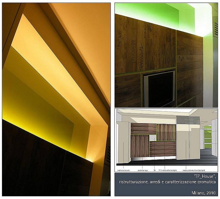 TP House: Case in stile  di Studio BASE, Moderno