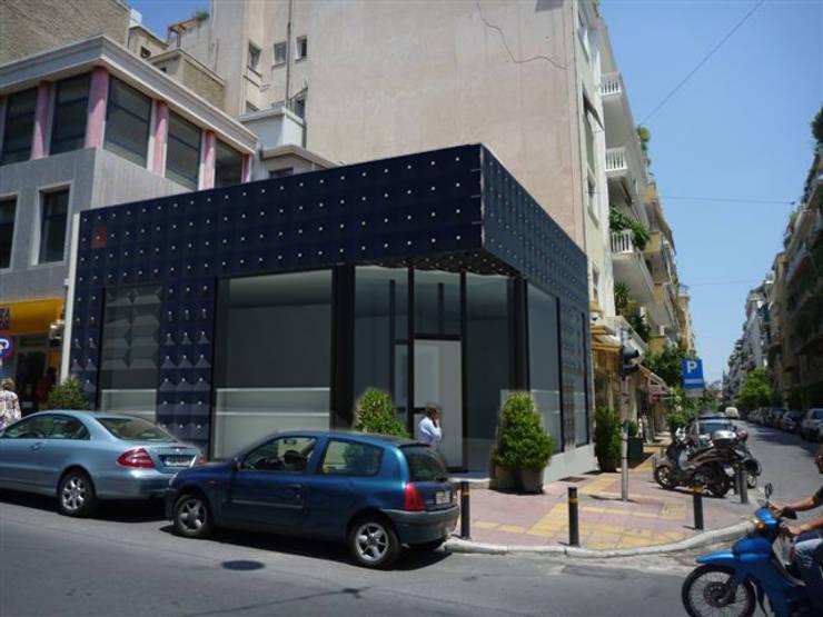 """<q class=""""-first"""">Gioielleria in Kolonaki</q> : Negozi & Locali commerciali in stile  di StudioF.Dioguardi, Moderno"""