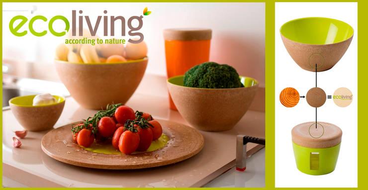 Saladier <q>ECOLIVING</q> et Couvert à salade 'ECOLIVING: Cuisine de style  par CHEVALIER DIFFUSION