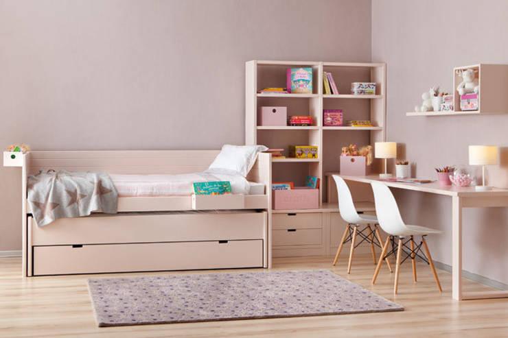 Sofás Camas Cruces:  tarz Kız çocuk yatak odası