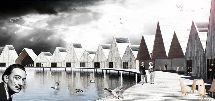 Inspiration Hotel en La Albufera de Valencia:  in stile  di Jorge Ruiz Boluda, architect, Moderno