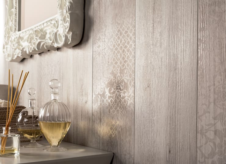 LARIX: Pareti & Pavimenti in stile  di ariana ceramica italiana