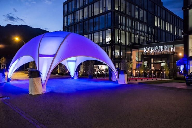 Crossover Large at Night: modern  von EventZelte - Jumping Star® e.K.,Modern