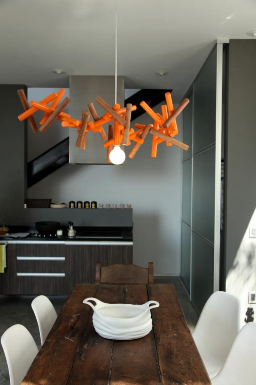 Coral Lamp: Comedor de estilo  por Natural Urbano