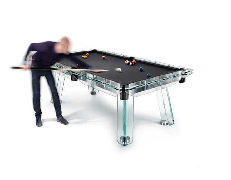 Filotto Pool Table:  Multimedia room by Quantum Play