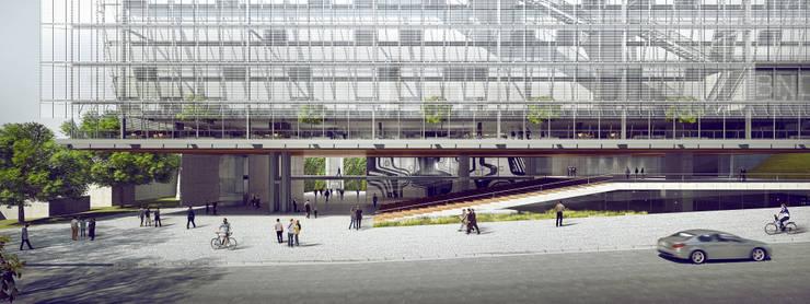 Edifício Anexo do BNDES - Projeto Premiado - 3º Lugar:   por São Paulo Arquitetos