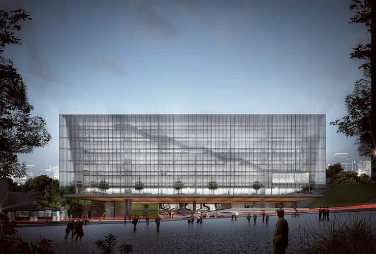 Edifício Anexo do BNDES – Projeto Premiado – 3º Lugar:   por São Paulo Arquitetos