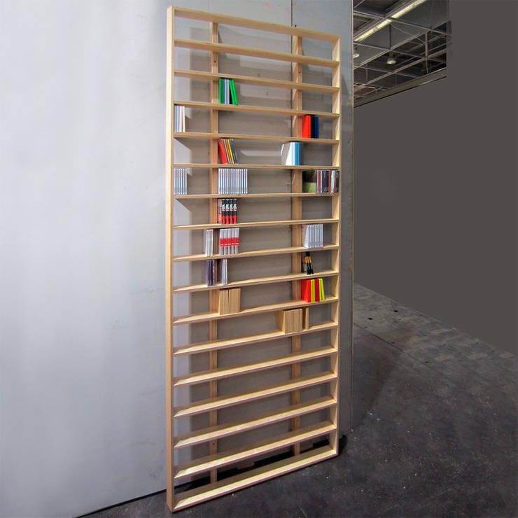 WallBook / WallDisc: Salon de style  par design